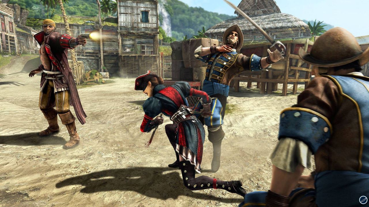 Assassin's Creed 4: Black Flag, primi dieci minuti del DLC Grido di Libertà