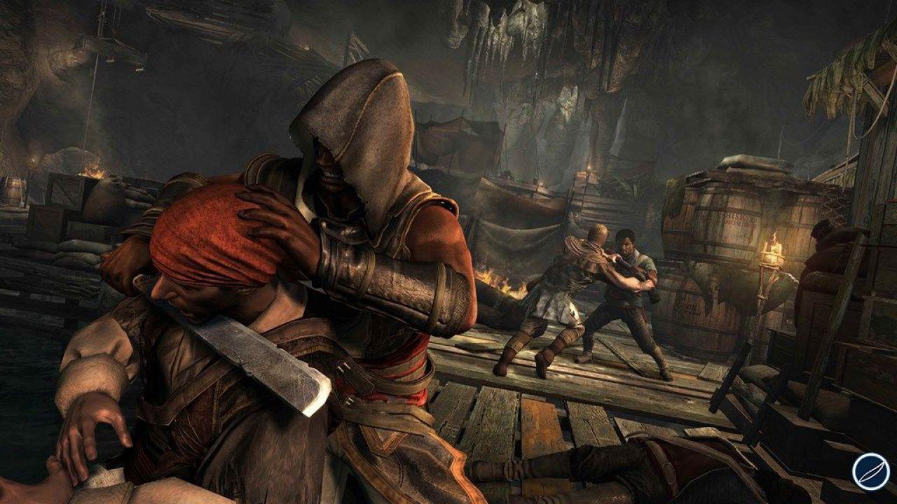 Assassin's Creed 4: Black Flag - quattro video per il multiplayer della versione PS4