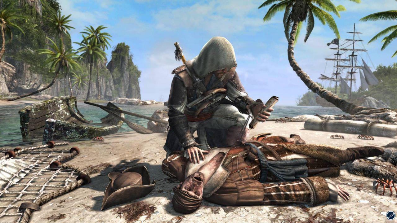 Assassin's Creed 4 Black Flag si aggiorna su PlayStation 4