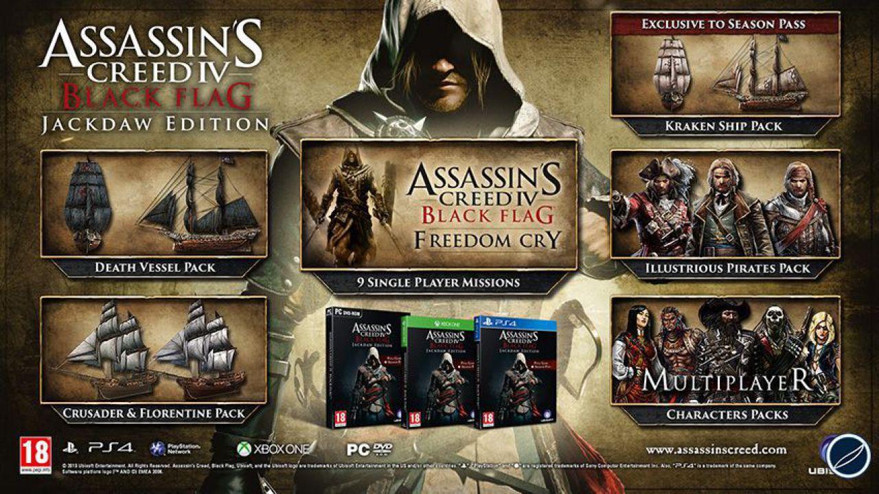 Assassin's Creed 4: Black Flag - il touchpad di PS4 potrà essere usato per la mappa