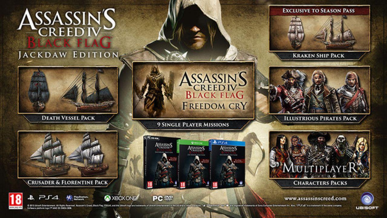 Assassin's Creed 4 Wii U: miglioramenti alle performance rispetto al terzo capitolo