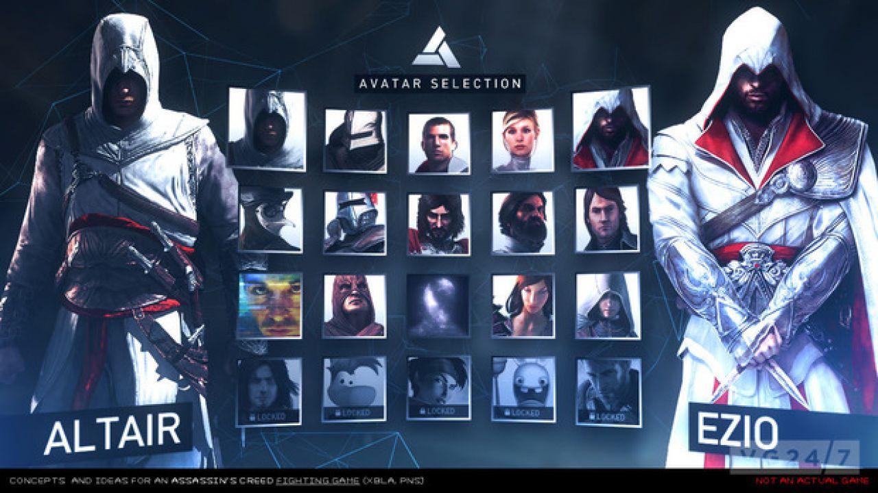 Assassin's Creed Duel: appaiono online alcuni concept di un nuovo progetto
