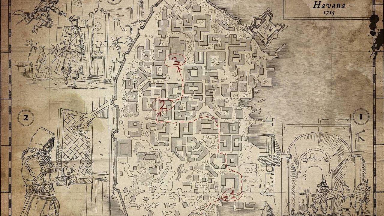 Assassin's Creed IV Black Flag: un video sulla componente stealth
