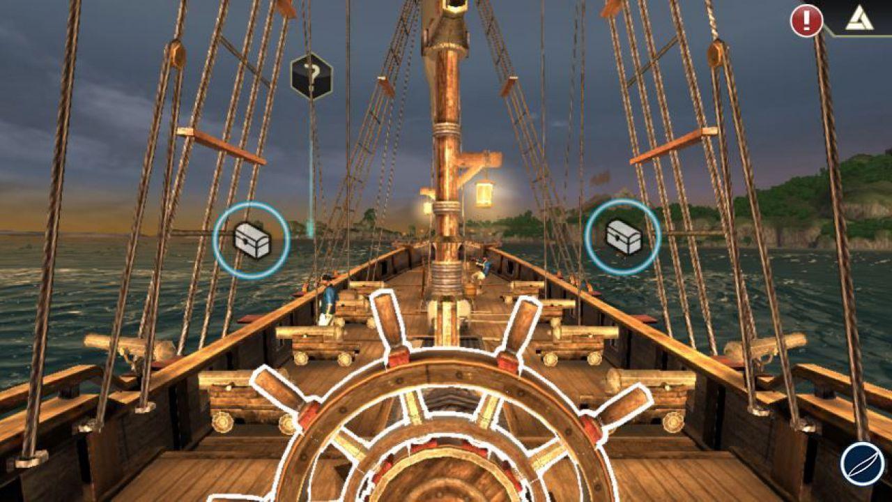 Assassin's Creed Pirates si aggiorna su iOS