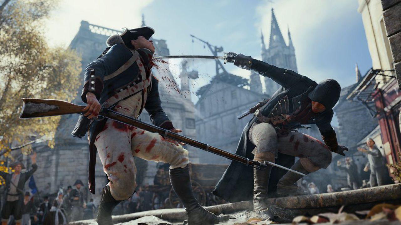 Assassin's Creed Unity debutta al secondo posto della classifica inglese
