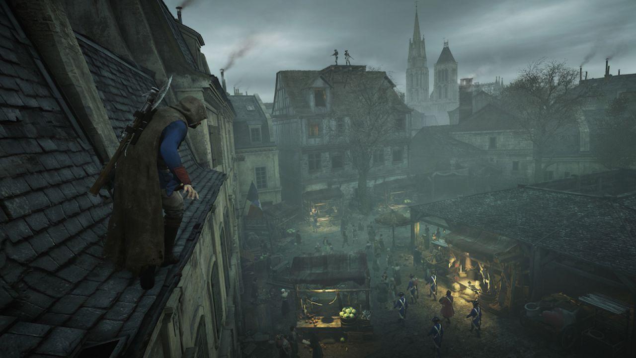 Assassin's Creed Unity: video confronto tra le versioni PlayStation 4 e Xbox One