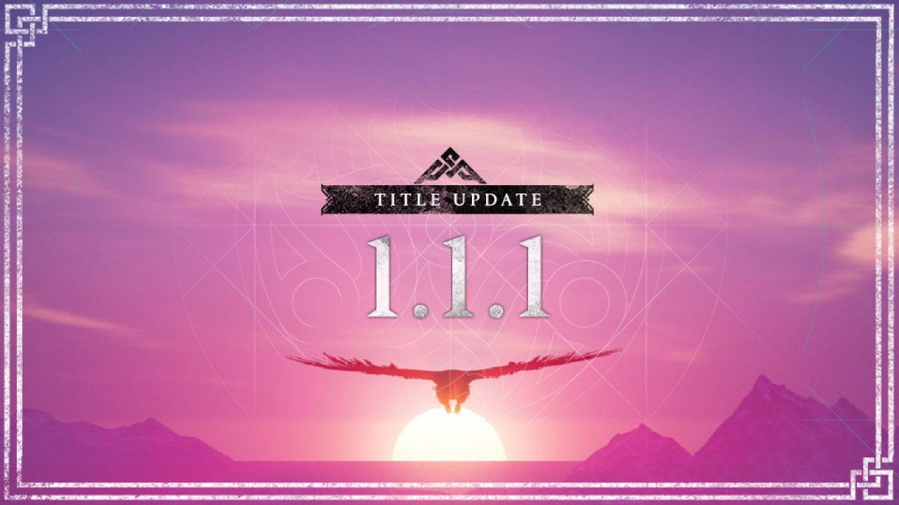 Assassin's Creed Valhalla: l'aggiornamento 1.1.1 arriva oggi, cosa cambia?