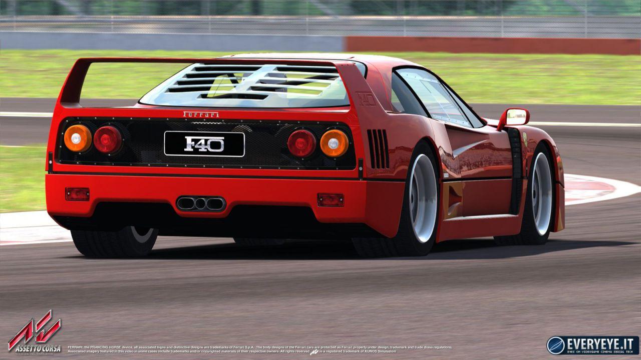 Assetto Corsa: confermata anche la Ferrari F40!