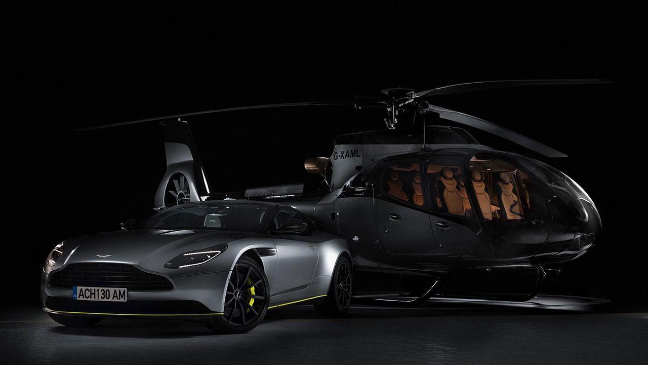 Aston Martin ha presentato un elicottero di lusso ultra-esclusivo