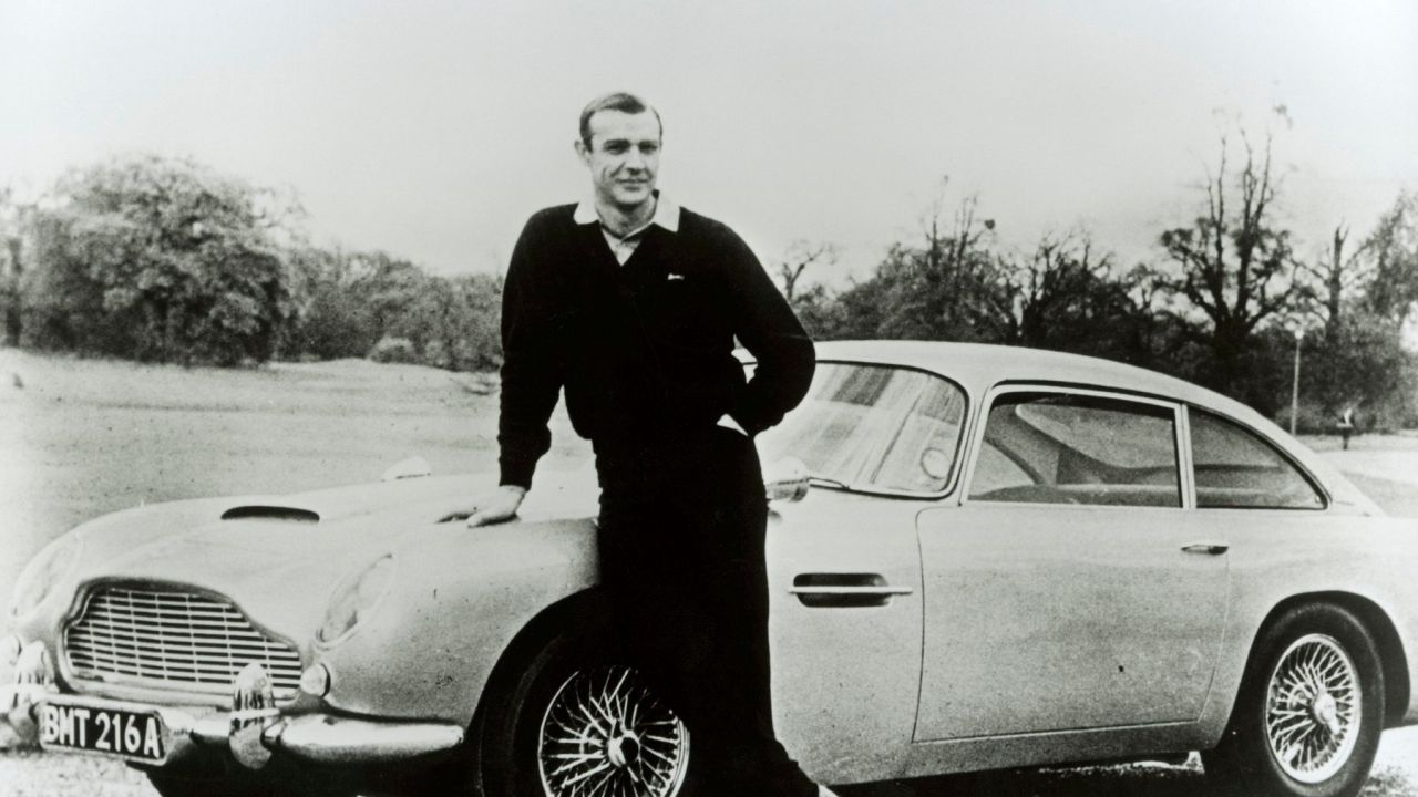 Aston Martin produrrà 25 esemplari dell'iconica DB5 dello 007 Sean Connery