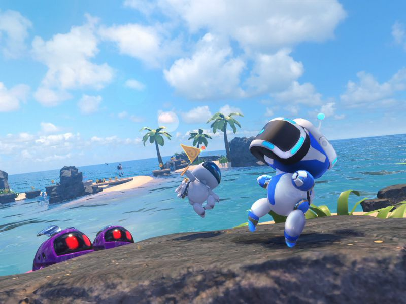 Will Astro Bot Rescue Mission 2 come out on PlayStation VR2 for PS5?