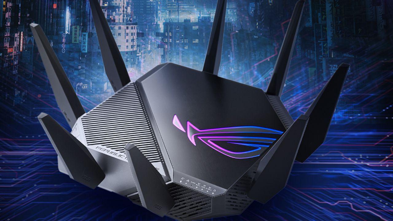 ASUS ROG presenta Rapture GT-AXE11000: il primo router WiFi 6E al mondo
