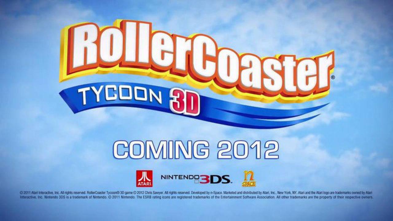 Atari ha annunciato la data di uscita di RollerCoaster Tycoon 3D