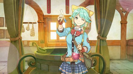 Atelier Shallie: Alchemists of the Dusk Sea - Video per l'opening musicale