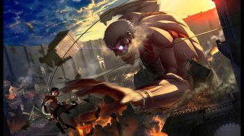 Attack on Titan Humanity in Chains in azione su 3DS