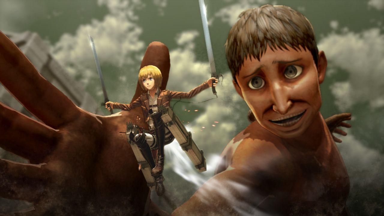 Attack on Titan Wings of Freedom: A caccia di giganti in queste immagini