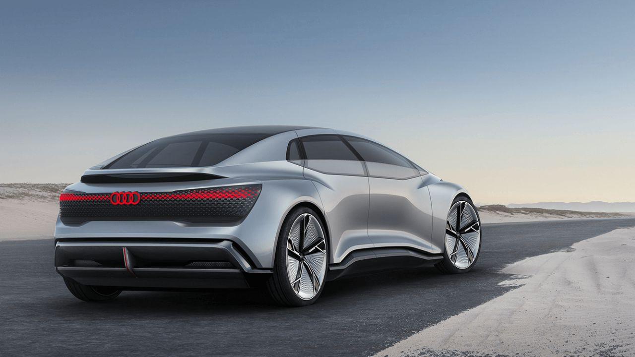 Audi Landjet: ecco il veicolo che potrebbe spodestare la Tesla Model S