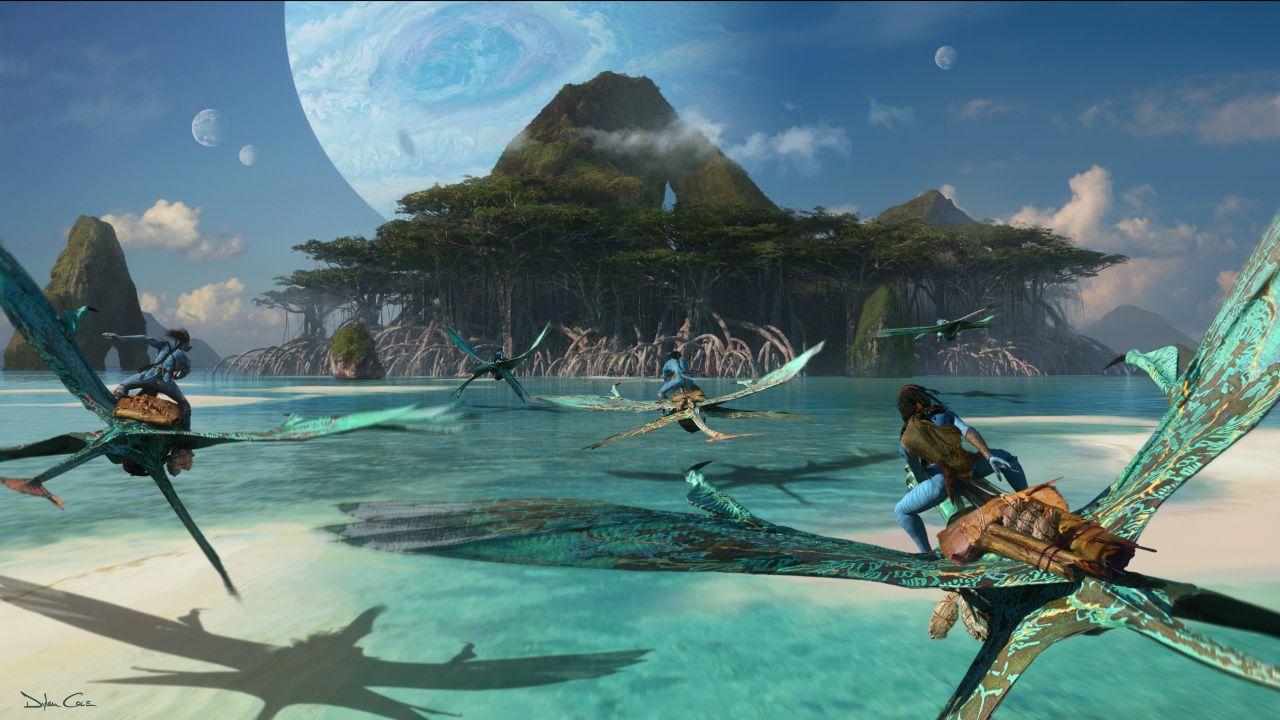 Avatar 2: James Cameron ci mostra la nave da combattimento Matador sul set del film