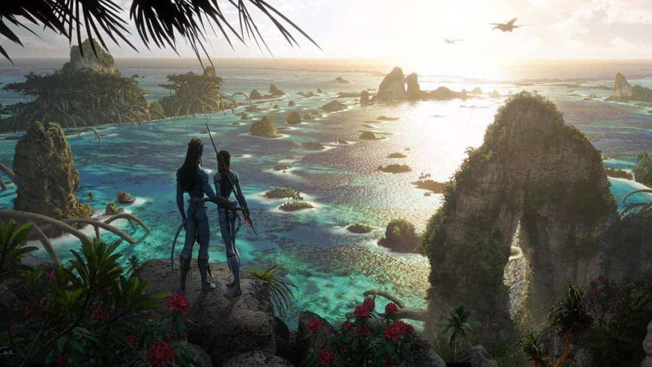 Avatar 2, una location acquatica del sequel al centro di una nuova concept art