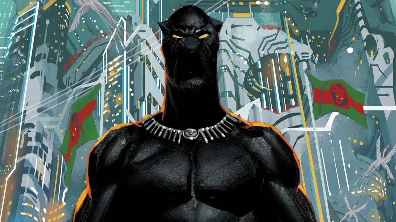 Avengers #36: Black Phanter è in grado di brandire Mjolnir?