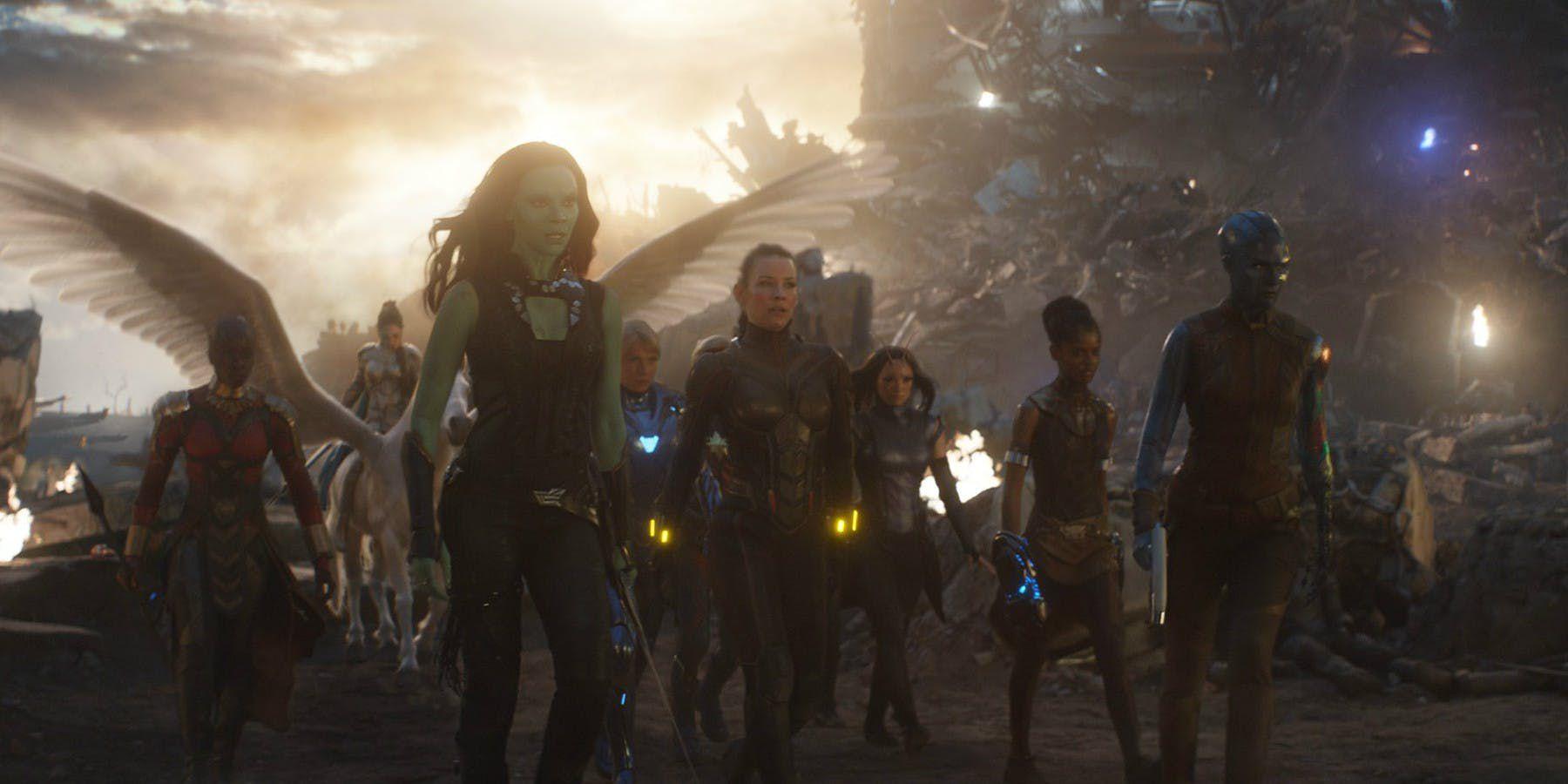 Avengers: Endgame, la A-Force in azione in un nuovo video