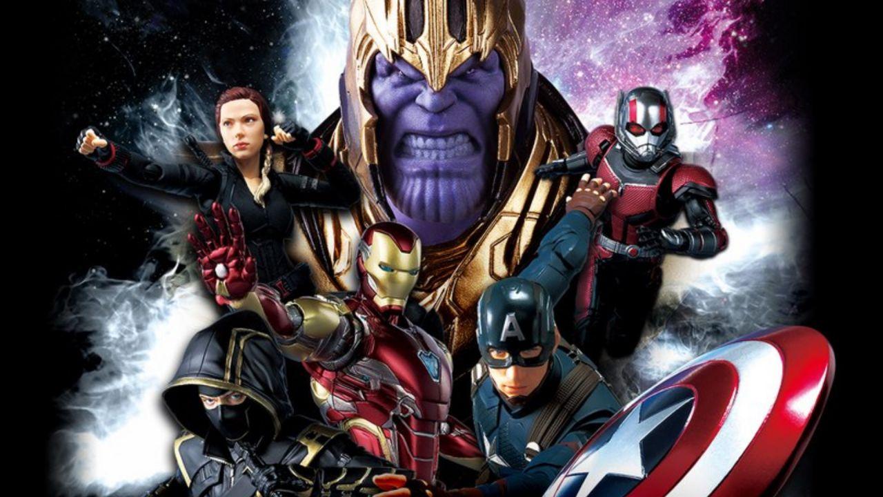 5e5a4057b708 Avengers: Endgame, le action figure mostrano i magnifici costumi del film