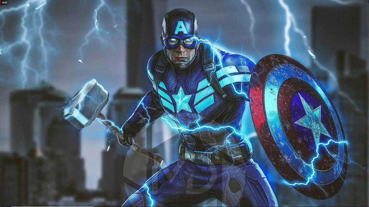 Avengers: Endgame, riecco l'ambitissima action figure di Captain America e Mjolnir