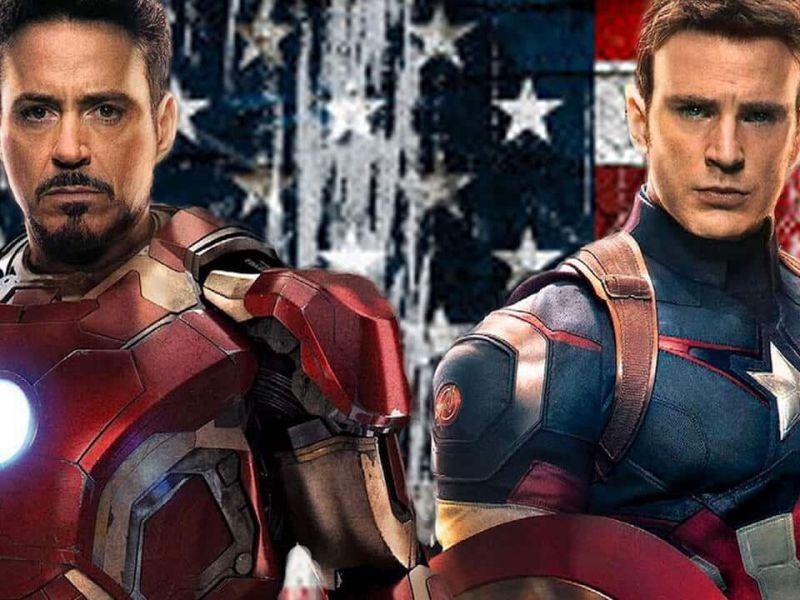 Avengers: Endgame, le impressionanti stealth suit di Captain America e Iron Man