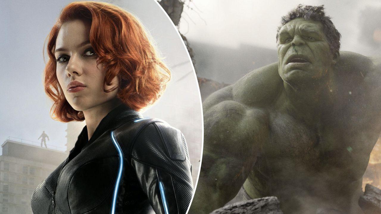 Avengers: Infinity War, ecco la scena eliminata dell'incontro tra Black Widow e Smart Hulk