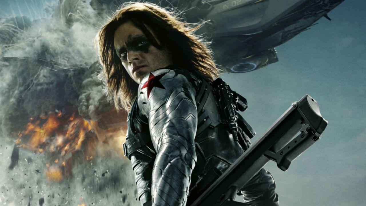 Avengers: Infinity War, Sebastian Stan pompa i muscoli del suo Winter Soldier!