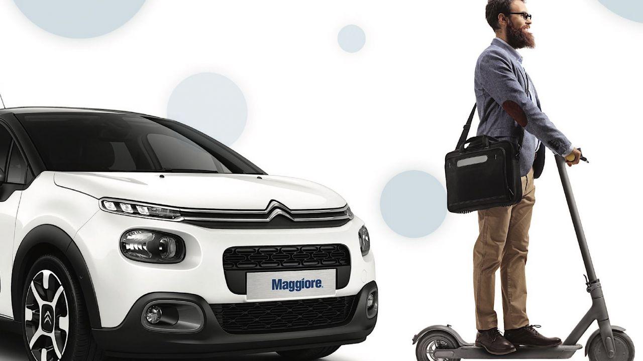 Avis, Budget e Maggiore lanciano il noleggio monopattino insieme alle auto