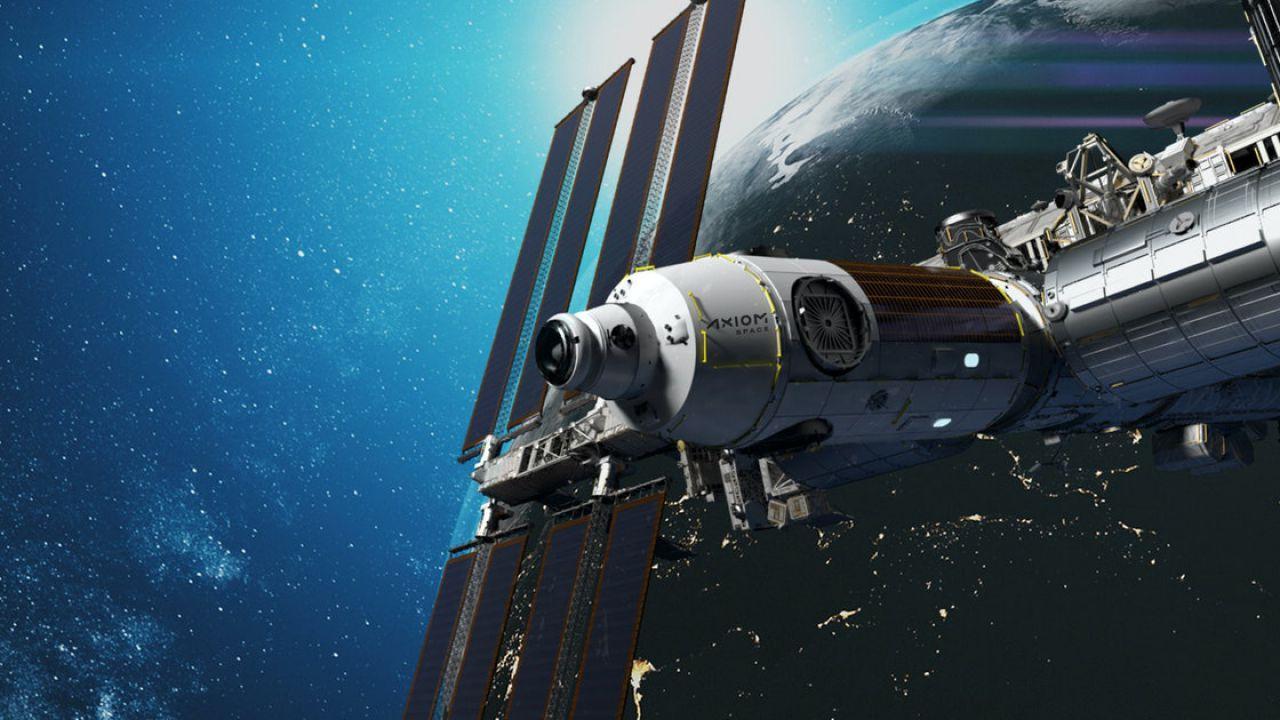 Axiom Space compie il primo passo per l'avvio di una stazione spaziale commerciale