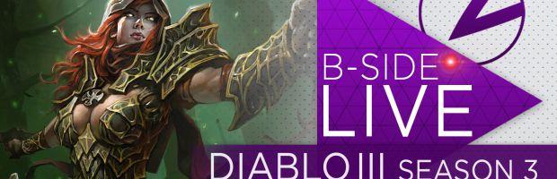 B-Side con Morlu Total Gaming: Diablo III giocato in diretta su Twitch l'8 maggio alle 21:00 - Notizia