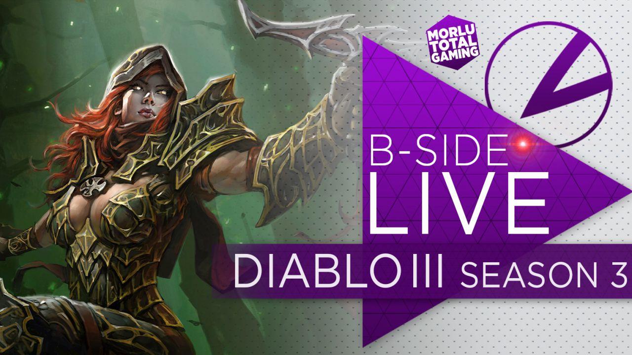B-Side con Morlu Total Gaming: Diablo III giocato in diretta su Twitch stasera alle 21:00