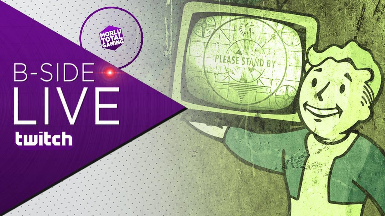 B-Side con Morlu Total Gaming: Fallout 3 moddato da paura in diretta su Twitch alle 21:00