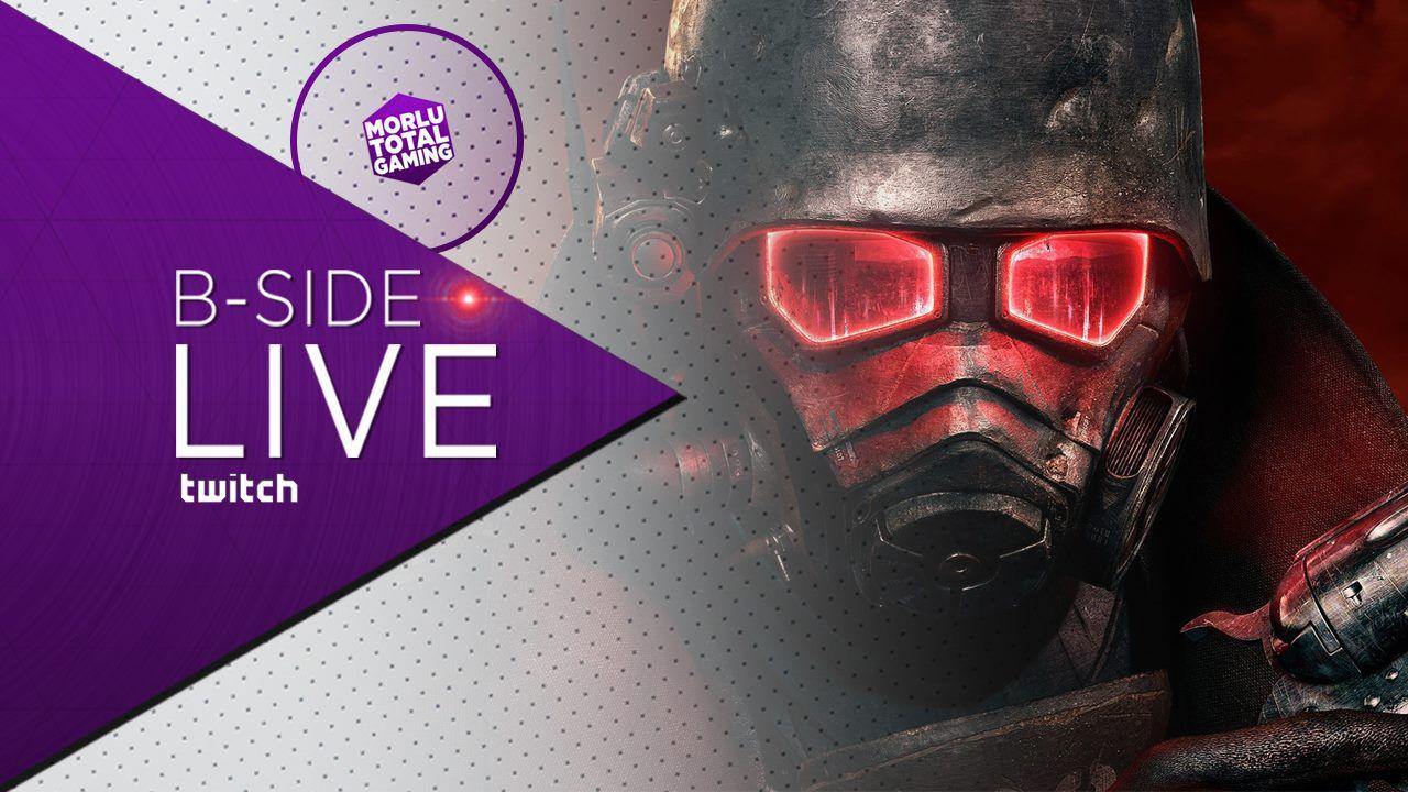 B-Side con Morlu Total Gaming: Fallout New Vegas moddato da paura in diretta su Twitch alle 21:00