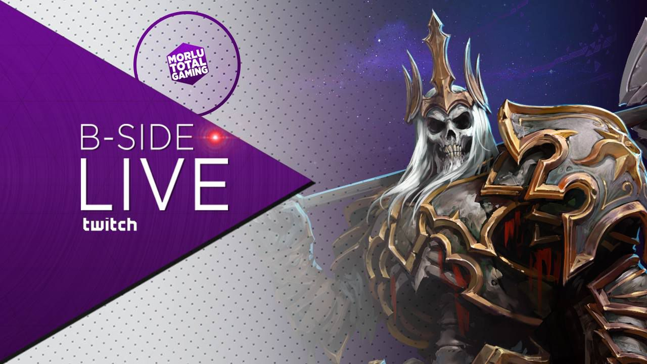 B-Side con Morlu Total Gaming - Heroes of the Storm: Leoric - Replica Live 23/07/2015