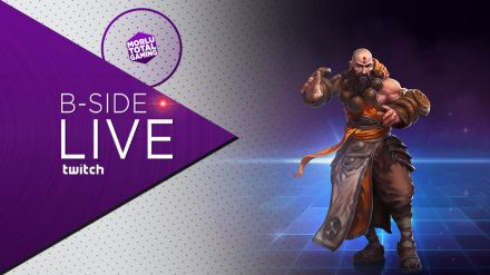 B-Side con Morlu Total Gaming - Heroes of the Storm: Monk - Replica Live 27/08/2015