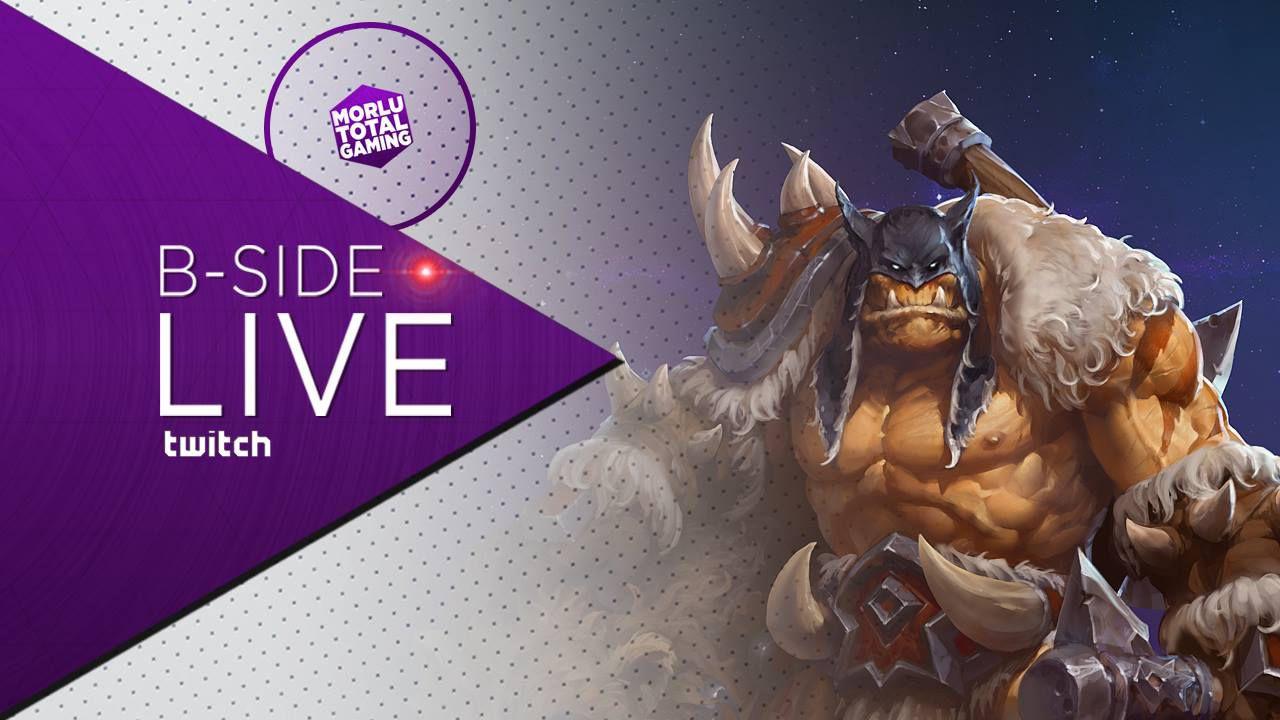 B-Side con Morlu Total Gaming - Heroes of The Storm: Rexxar in diretta su Twitch - Replica Live
