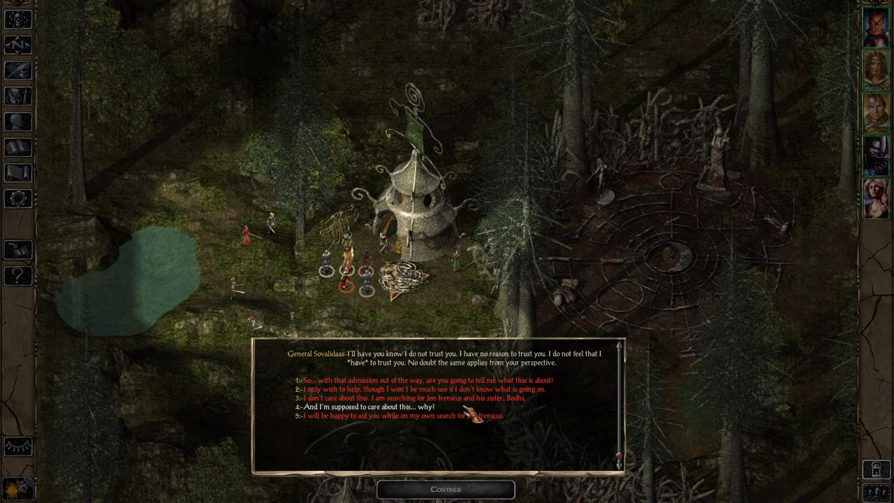 Baldur's Gate 2: Enhanced Edition disponibile su iPad
