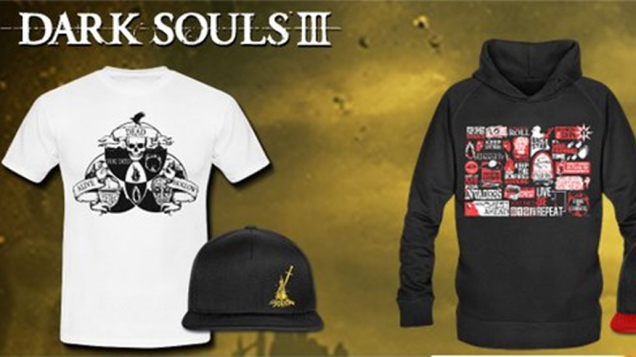 Bandai Namco lancia una linea di abbigliamento a tema Dark Souls