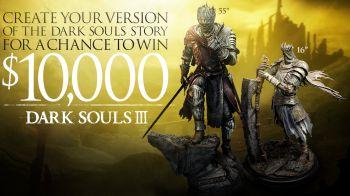 Bandai Namco mette in palio 10,000 dollari in un contest dedicato alla storia di Dark Souls