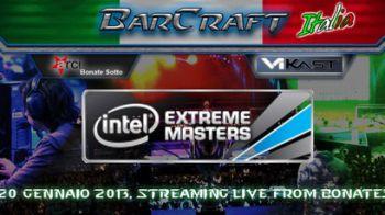 Barcraft Italia Bergamo organizza le proiezioni dell' Intel Extreme Masters di StarCraft 2