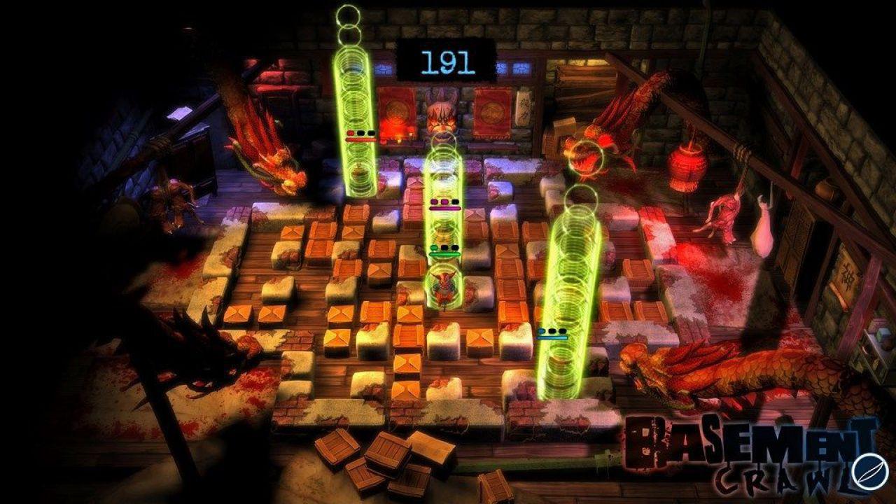 Basement Crawl: su PS4 arriverà anche questo puzzle game con labirinti e multiplayer