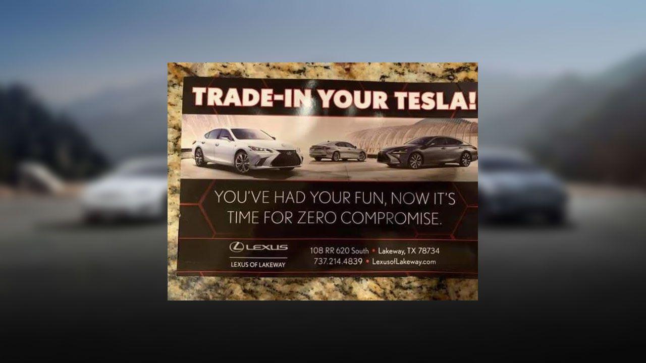 Basta Tesla, basta compromessi: la nuova campagna Lexus sfida Elon Musk