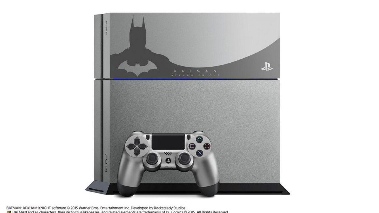 Batman Arkham Knight: esclusiva PlayStation 4 in Giappone