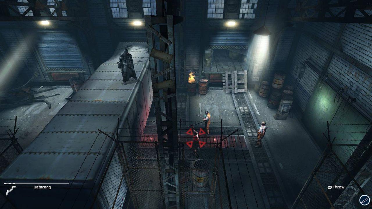 Batman Arkham Origins Blackgate: un video confronto tra le versioni 3DS e PSVita