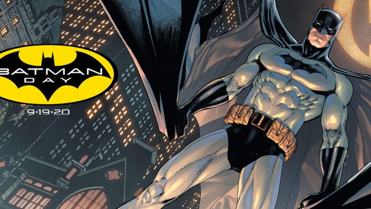 Batman Day 2020: oltre 3.000 fumetti scontati o in regalo, novità anche per Panini Comics