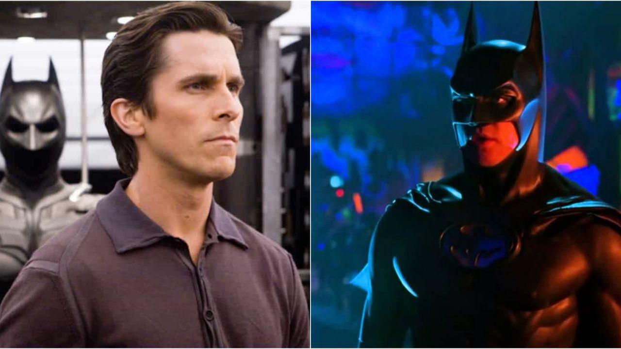 Batman, guardate Christian Bale indossare lo storico costume di Val Kilmer