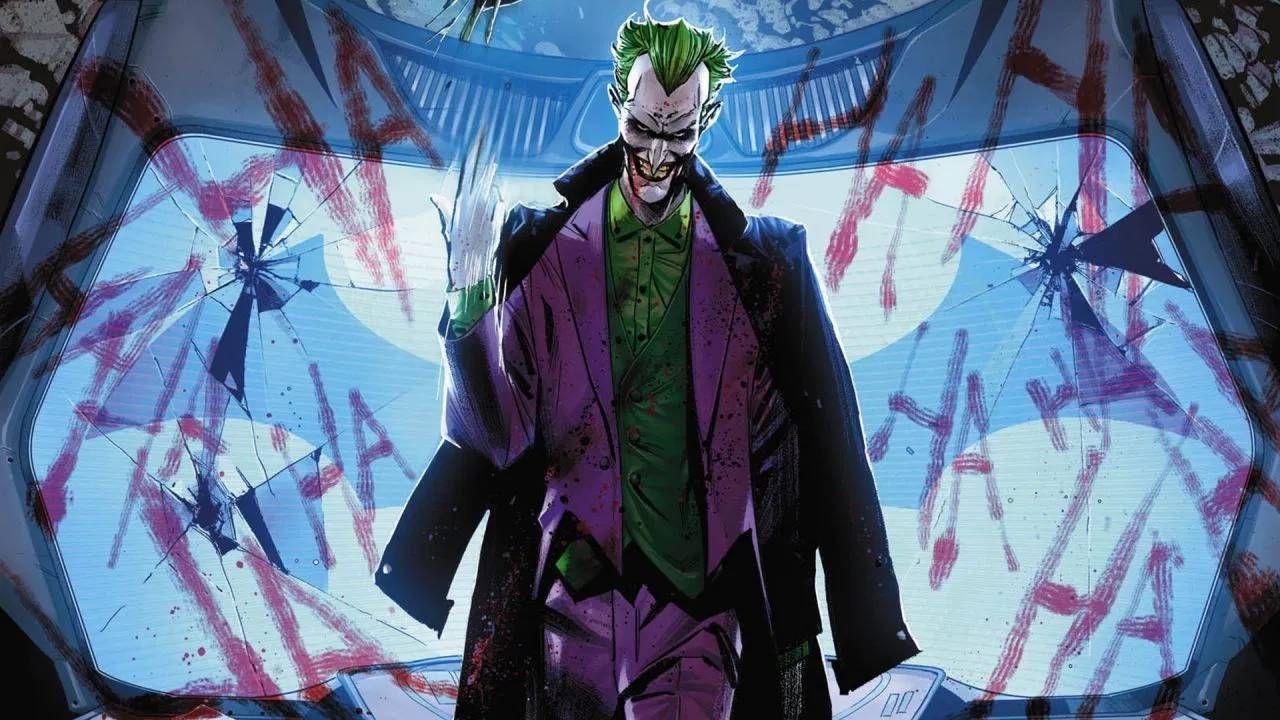 Batman: Joker saluta l'anno nuovo con un esilarante botto